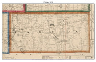 Fabius, New York 1859 Old Town Map Custom Print - Onondaga Co.