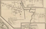 Onondaga Valley, New York 1859 Old Town Map Custom Print - Onondaga Co.