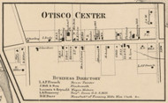 Otisco Center, New York 1859 Old Town Map Custom Print - Onondaga Co.