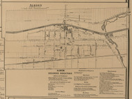 Albion, New York 1860 Old Town Map Custom Print - Orleans Co.