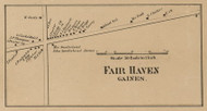 Fair Haven, New York 1860 Old Town Map Custom Print - Orleans Co.