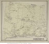 Constantia, New York 1867 - Old Town Map Reprint - Oswego Co.