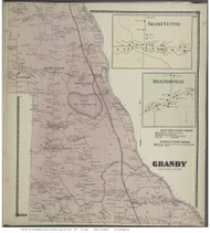 Granby, New York 1867 - Old Town Map Reprint - Oswego Co.