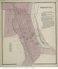 City of Oswego, New York 1867 - Old Town Map Reprint - Oswego Co.