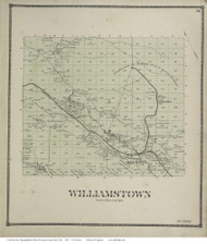 Williamstown, New York 1867 - Old Town Map Reprint - Oswego Co.