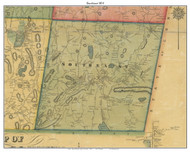 Southeast, New York 1854 Old Town Map Custom Print - Putnam Co.