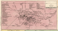 Trumansburg, New York 1853 Old Town Map Custom Print - Tompkins Co.