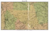 Newcast, New York 1858 Old Town Map Custom Print - Westchester Co.