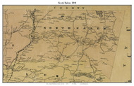 North Salem, New York 1858 Old Town Map Custom Print - Westchester Co.
