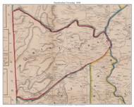 Hamiltonban Township, Pennsylvania 1858 Old Town Map Custom Print - Adams Co.