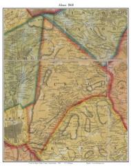 Alsace Township, Pennsylvania 1860 Old Town Map Custom Print - Berks Co.