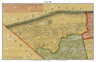 Bethel Township, Pennsylvania 1860 Old Town Map Custom Print - Berks Co.
