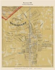 Boyertown - Colebrookdale Township, Pennsylvania 1860 Old Town Map Custom Print - Berks Co.