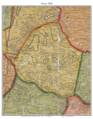 Exeter Township, Pennsylvania 1860 Old Town Map Custom Print - Berks Co.