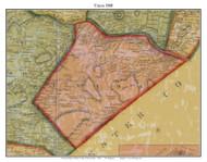 Union Township, Pennsylvania 1860 Old Town Map Custom Print - Berks Co.
