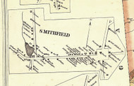 Smithfield - Bradford Co., Pennsylvania 1858 Old Town Map Custom Print - Bradford Co.