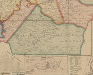Richland Township, Pennsylvania 1867 Old Town Map Custom Print - Cambria Co.