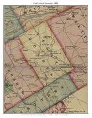 East Goshen Township, Pennsylvania 1856 Old Town Map Custom Print - Chester Co.