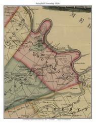 Schuylkill Township, Pennsylvania 1856 Old Town Map Custom Print - Chester Co.
