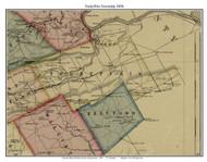Tredyffrin Township, Pennsylvania 1856 Old Town Map Custom Print - Chester Co.