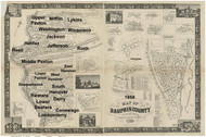 Towns on Source Map - Dauphin Co., Pennsylvania 1858 - NOT FOR SALE - Dauphin Co.