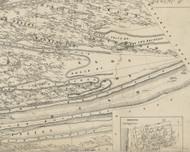 Jackson Township, Pennsylvania 1858 Old Town Map Custom Print - Dauphin Co.