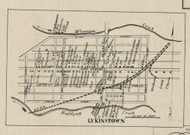 Lykinstown - Lykins Township, Pennsylvania 1858 Old Town Map Custom Print - Dauphin Co.