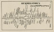 Hunnelstown - Dauphin Co., Pennsylvania 1858 Old Town Map Custom Print - Dauphin Co.