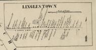 Linglestown - Dauphin Co., Pennsylvania 1858 Old Town Map Custom Print - Dauphin Co.