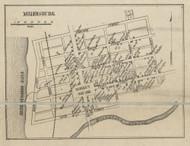 Millerburg - Dauphin Co., Pennsylvania 1858 Old Town Map Custom Print - Dauphin Co.