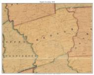 Marple Township, Pennsylvania 1848 Old Town Map Custom Print - Delaware Co.