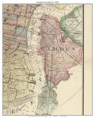 Camden Township, Pennsylvania 1876 Old Town Map Custom Print - Delaware Co.
