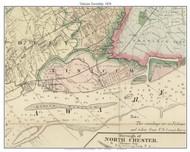 Tinicum Township, Pennsylvania 1876 Old Town Map Custom Print - Delaware Co.