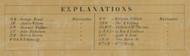 Map Key - Elk Co., Pennsylvania 1855 Old Town Map Custom Print - Elk Co.