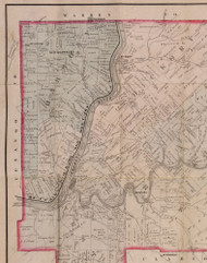Harmony Township, Pennsylvania 1881 Old Town Map Custom Print - Forest Co.
