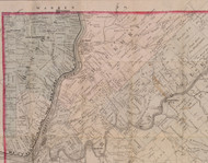 Hickory Township, Pennsylvania 1881 Old Town Map Custom Print - Forest Co.