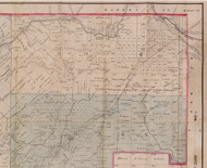 Howe Township, Pennsylvania 1881 Old Town Map Custom Print - Forest Co.
