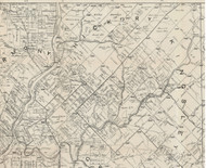 Hickory Township, Pennsylvania 1895 Old Town Map Custom Print - Forest Co.