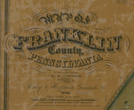 Title of Source Map - Franklin Co., Pennsylvania 1858 - NOT FOR SALE - Franklin Co.