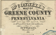 Title of Source Map - Greene Co., Pennsylvania 1865 - NOT FOR SALE - Greene Co.