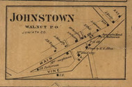 Johnstown - Juniata Co., Pennsylvania 1863 Old Town Map Custom Print - Juniata Co.