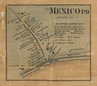 Mexico - Juniata Co., Pennsylvania 1863 Old Town Map Custom Print - Juniata Co.