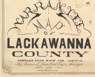 Title of Source Map - Lackawanna Co., Pennsylvania 1879 - NOT FOR SALE - Lackawanna Co.
