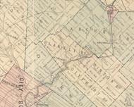 Blakely Boro Township, Pennsylvania 1879 Old Town Map Custom Print - Lackawanna Co.