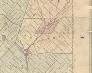 Carbondale Township, Pennsylvania 1879 Old Town Map Custom Print - Lackawanna Co.