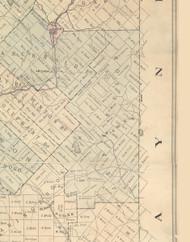 Jefferson Township, Pennsylvania 1879 Old Town Map Custom Print - Lackawanna Co.