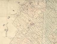 North Abingdon Township, Pennsylvania 1879 Old Town Map Custom Print - Lackawanna Co.