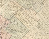Olyphant Boro Township, Pennsylvania 1879 Old Town Map Custom Print - Lackawanna Co.
