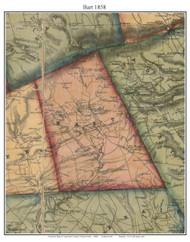 Bart Township, Pennsylvania 1858 Old Town Map Custom Print - Lancaster Co.