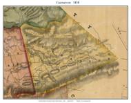 Caernarvon Township, Pennsylvania 1858 Old Town Map Custom Print - Lancaster Co.